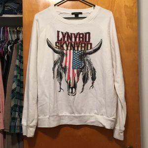 Forever 21 Lynyrd Skynyrd Sweatshirt